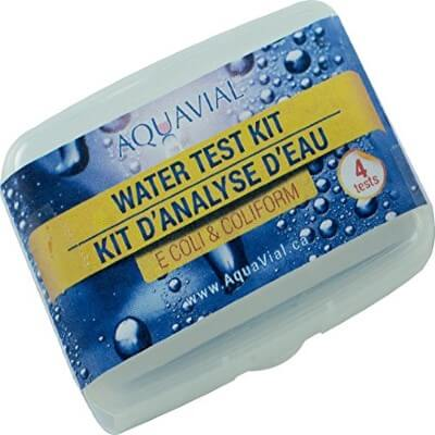 AquaVial - best water test kit for lead