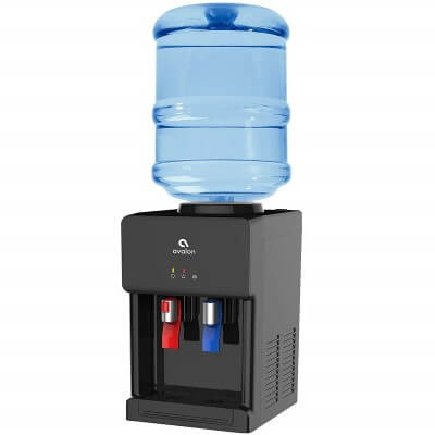 Avalon Premium Hot Cold Top Loading Countertop - best rated water cooler dispensers on the market