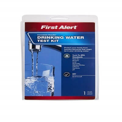 First Alert WT1 - best water test kit for well water