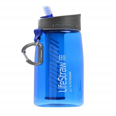 LifeStraw Go Water Bottle 1-Stage with Integrated - best filtered water bottles on the market in 2020