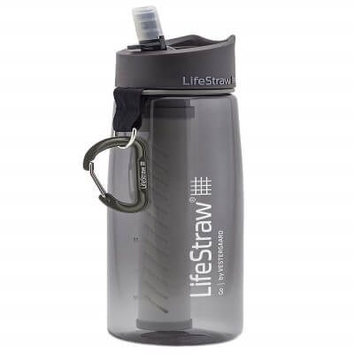 LifeStraw Go Water Filter Bottle with 2-Stage Integrated Filter - best portable water filter for home