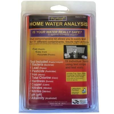 PurTest - top selling water test kit for home