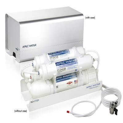 APEC Portable Countertop - review of best reverse osmosis system countertop