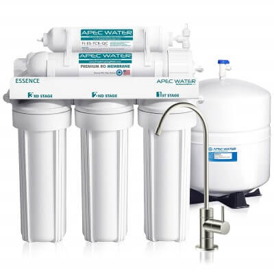 APEC Top Tier 5-Stage Ultra Safe - best reverse osmosis system for apartments