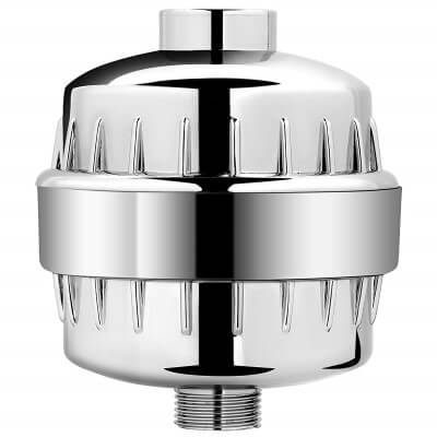 AquaBliss High Output - best shower filter for hard water and chlorine