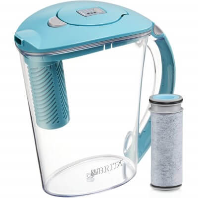 Brita Large 10 Cup Stream - best water filter pitcher for lead