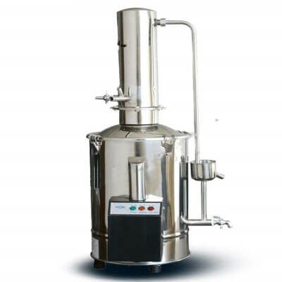 CGOLDENWALL Auto-Control Electric Water Distiller Water Distilling Machine Distilled Water 10L
