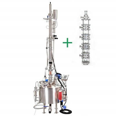 Distiller GENIO STILL 50 Automated Distillation Column can be used for distilling Water