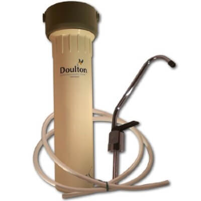 Doulton W9330958 SuperCarb - best rated under sink water filter for kitchen