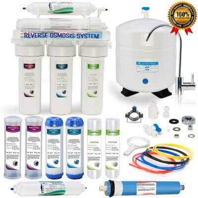 Global Water RO-505 5-Stage - best reverse osmosis system reviews