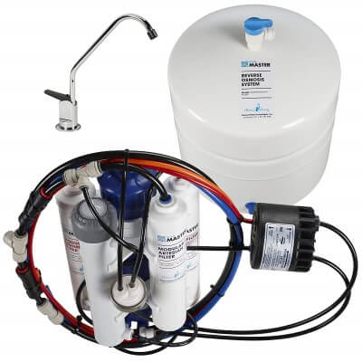 Home Master TMHP HydroPerfection - best cheap under sink water filter