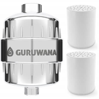 Shower Filter - Hard Water Chlorine Remover - Universal Shower Head Fit