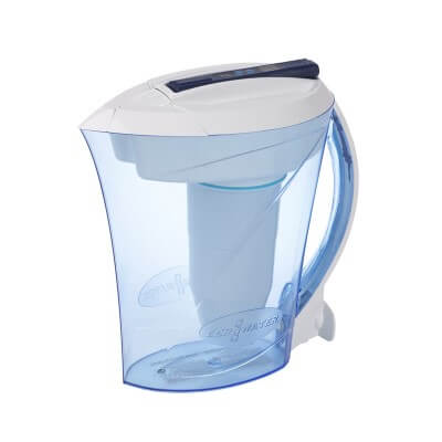 ZeroWater 10 Cup - best water filter pitcher for hard water