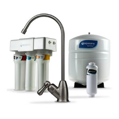 Aquasana OptimH2O Reverse Osmosis- best water filter for chloramine removal