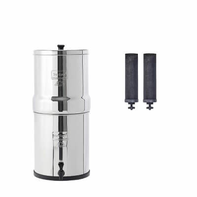 Big Berkey Gravity-Fed Water Filter - best water filters for chloramine removal in 2020