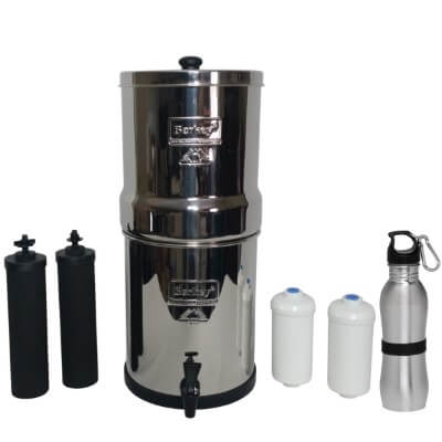 Big Berkey Water Filter 2.5 Gallon System - best lead removal water filter pitcher