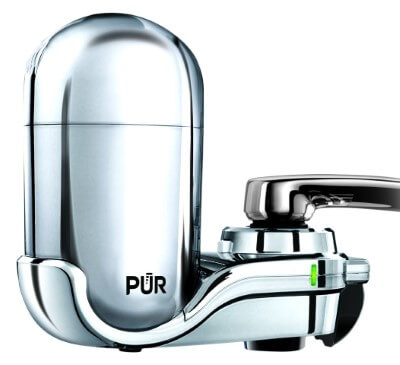 PUR FM-3700 Advanced Faucet Water Filter - best lead removal water filter