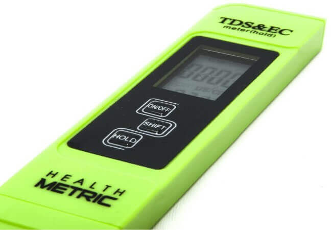 Professional TDS ppm Conductivity Meter - best TDS meters 2020