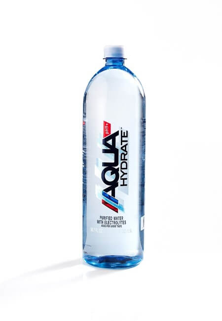 AQUAhydrate Electrolyte Enhanced Alkaline Water, 50.7 Fl. Oz