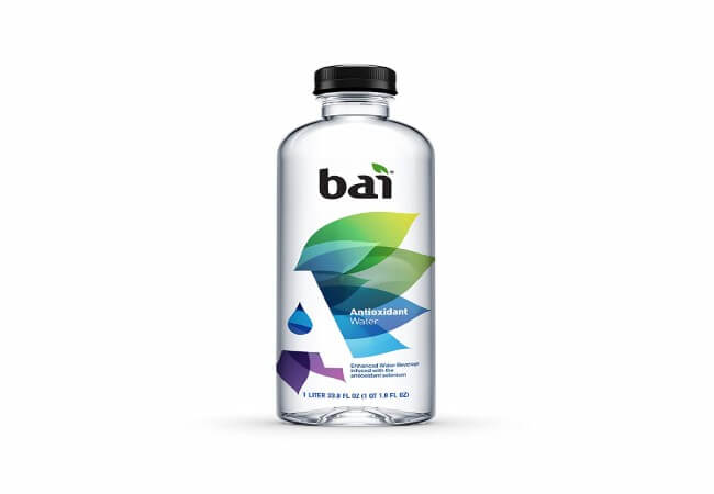 Bai Antioxidant Water, Alkaline Water, Infused with the Antioxidant Mineral Selenium, Purified Water with Electrolytes added for Taste, pH Balanced to 7.5 or Higher