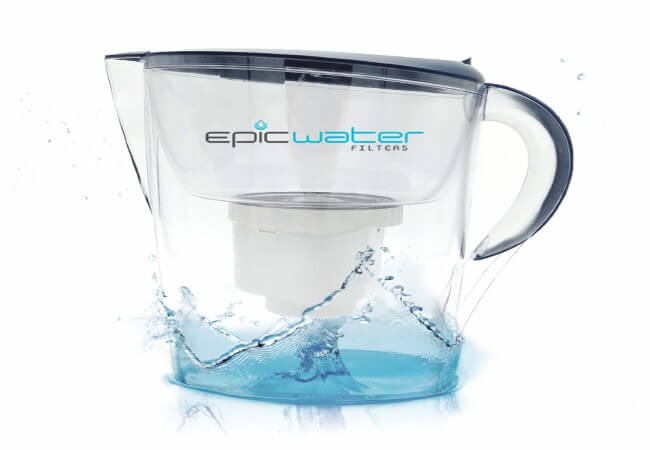 Epic Pure Water Filter Pitcher - best alkaline water dispensers review