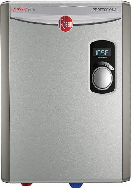 Rheem RTEX-18 18kW 240V Electric Tankless Water Heater, small, Gray