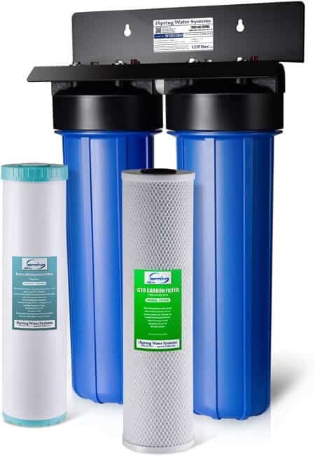 iSpring WGB22BM 2-Stage Whole House Water Filtration System