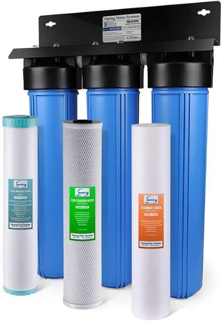 iSpring WGB32BM 3-Stage Whole House Water Filtration System