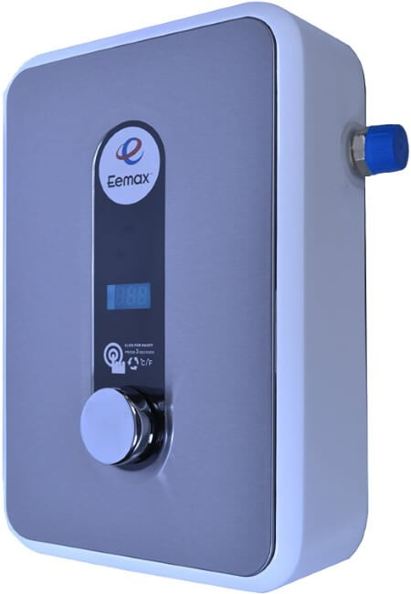 Eemax HA008240 240V 8.0 kW Electric Tankless Water Heater Gray